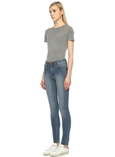 Courtshop Jean Pantolon Renkli